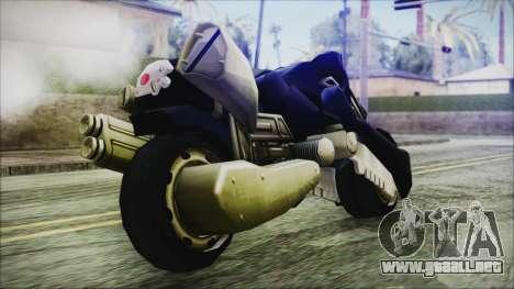 FF7AC Bike para la visión correcta GTA San Andreas