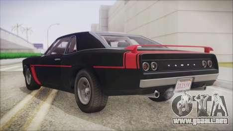 GTA 5 Declasse Tampa IVF para GTA San Andreas left