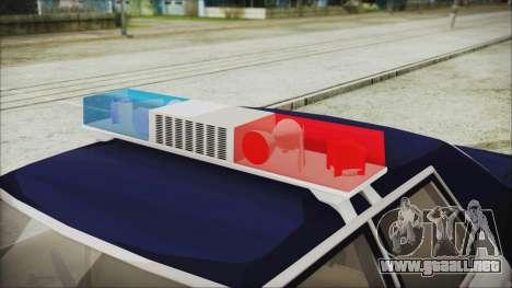Dodge Monaco 1974 LSPD Highway Patrol Version para la visión correcta GTA San Andreas