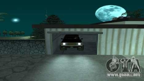 FBIranch By MarKruT para GTA San Andreas vista hacia atrás