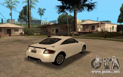 Audi TT 2004 Tunable para GTA San Andreas left