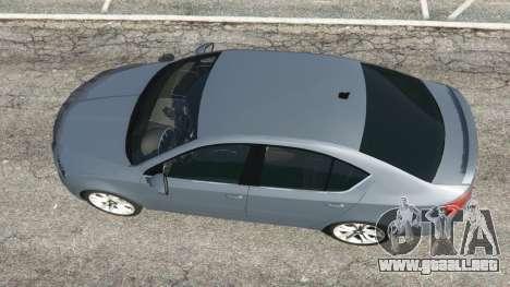 GTA 5 Skoda Octavia VRS 2014 [hatchback] vista trasera