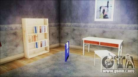 CJ House New Interior para GTA San Andreas tercera pantalla