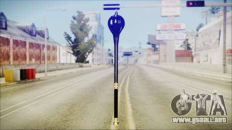 Bulat Steel Mace para GTA San Andreas segunda pantalla