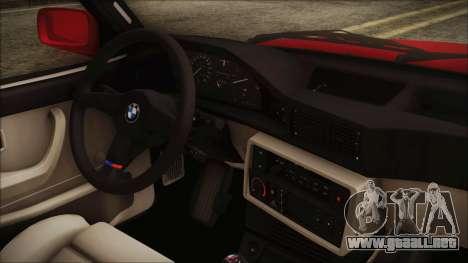 BMW M5 E28 1988 para la visión correcta GTA San Andreas