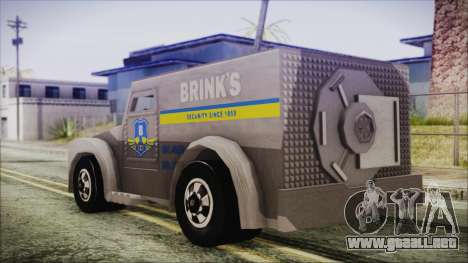 Hot Wheels Funny Money Truck para GTA San Andreas left