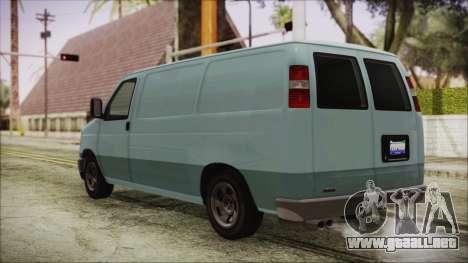 GTA 5 Bravado Rumpo para GTA San Andreas left