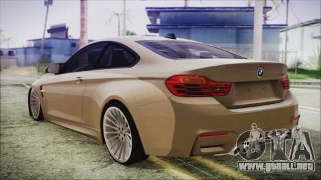 BMW M4 Coupe para GTA San Andreas left