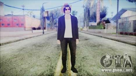 GTA Online Skin 29 para GTA San Andreas segunda pantalla