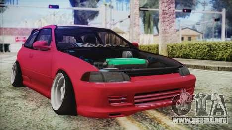 Honda Civic EG6 Hellaflush para GTA San Andreas