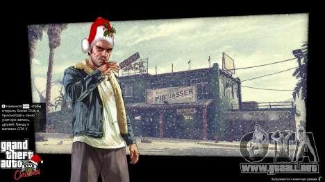 GTA 5 La navidad pantallas de carga tercera captura de pantalla