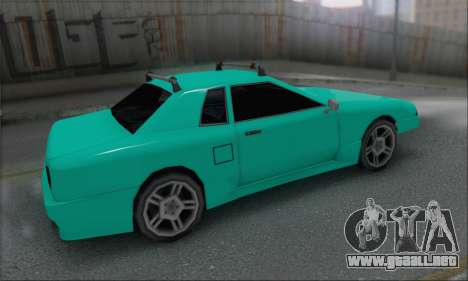 Elegy Min.Korch para GTA San Andreas left