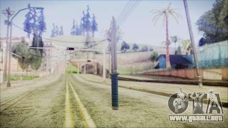 GTA 5 Knife v2 - Misterix 4 Weapons para GTA San Andreas segunda pantalla