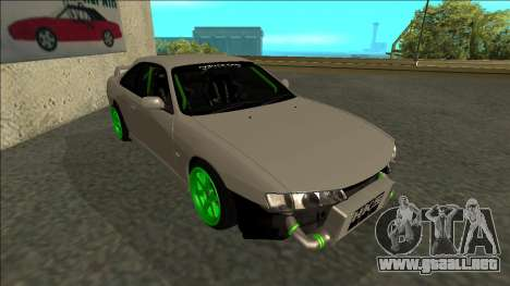 Nissan Silvia S14 Drift Monster Energy para GTA San Andreas left
