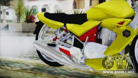 Yamaha Tuning Full Cromo para la visión correcta GTA San Andreas