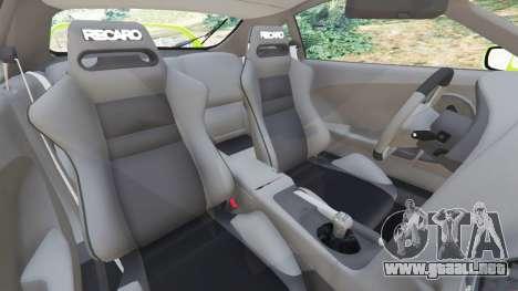 GTA 5 Toyota Supra JZA80 vista lateral derecha