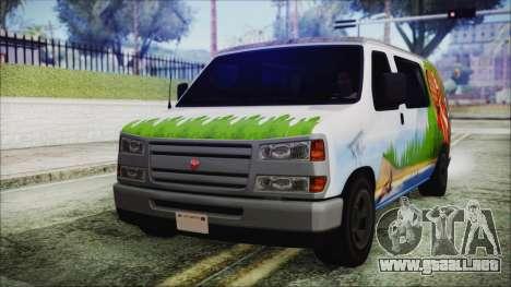 GTA 5 Bravado Paradise Lumberjack Artwork para GTA San Andreas