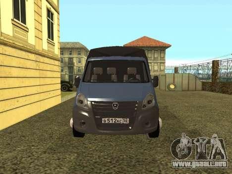 La Gacela De La Siguiente para la visión correcta GTA San Andreas