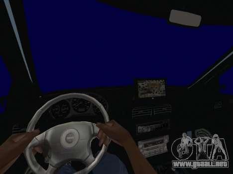Subaru Forester 1998 para GTA San Andreas vista hacia atrás