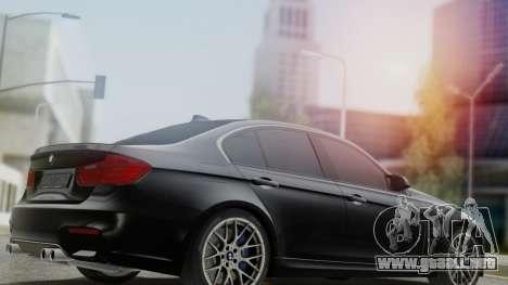 BMW M3 F30 SEDAN para GTA San Andreas left