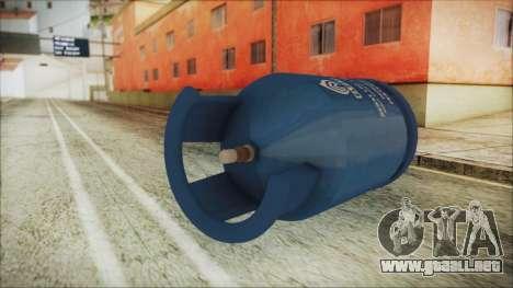 Gas LPG 12 kg para GTA San Andreas