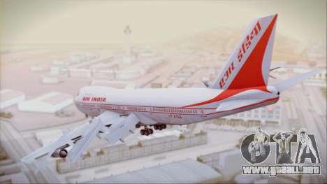 Boeing 747-237Bs Air India Samudragupta para GTA San Andreas left