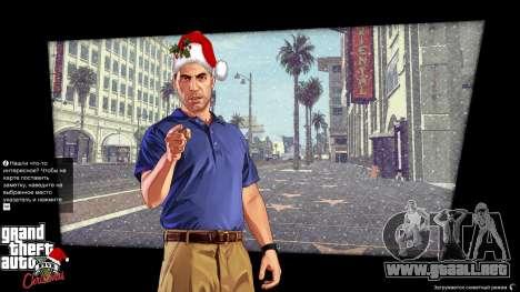 GTA 5 La navidad pantallas de carga segunda captura de pantalla