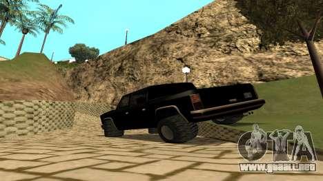 FBIranch By MarKruT para GTA San Andreas left