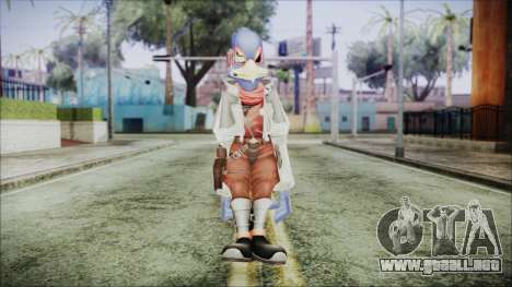 Falco Lombardi para GTA San Andreas segunda pantalla
