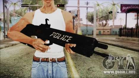 Cyberpunk 2077 Rifle Police para GTA San Andreas tercera pantalla