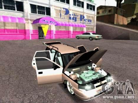 VAZ 2111 Tuning para visión interna GTA San Andreas