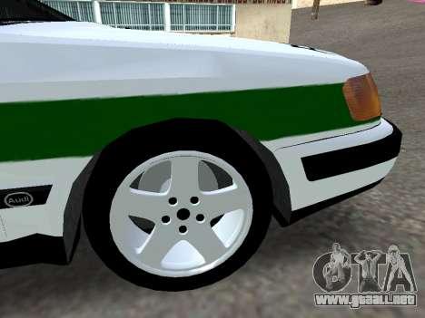 Audi 100 C4 1995 Police para la visión correcta GTA San Andreas