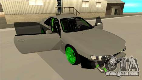 Nissan Silvia S14 Drift Monster Energy para vista inferior GTA San Andreas