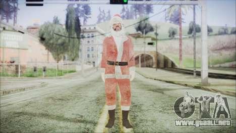 GTA 5 Santa Sucio para GTA San Andreas segunda pantalla