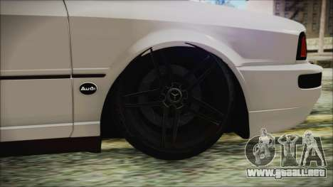 Audi 80 B4 RS2 New para GTA San Andreas vista posterior izquierda