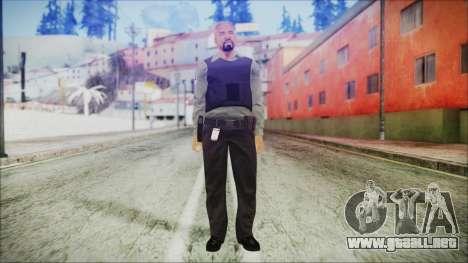 GTA 5 Ammu-Nation Seller 3 para GTA San Andreas segunda pantalla