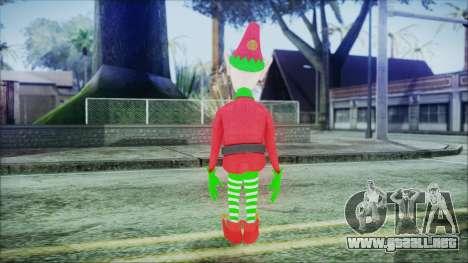 Christmas Elf v1 para GTA San Andreas tercera pantalla