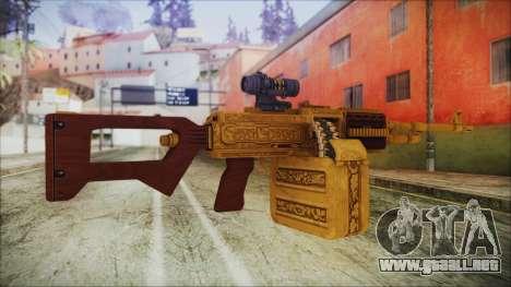GTA 5 MG from Lowrider DLC para GTA San Andreas segunda pantalla