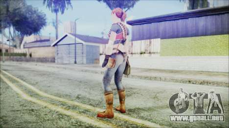 Evelyn from Contract Killer Zombies para GTA San Andreas tercera pantalla