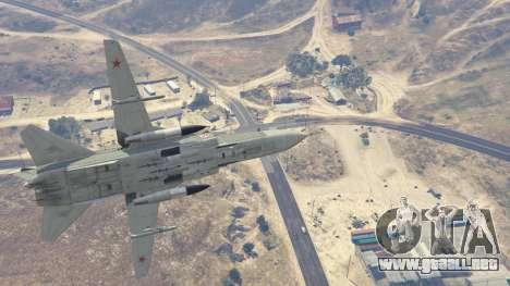 GTA 5 SU-24M noveno captura de pantalla