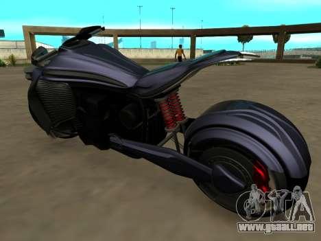 Krol Taurus concept HD ADOM v2.0 para GTA San Andreas vista posterior izquierda