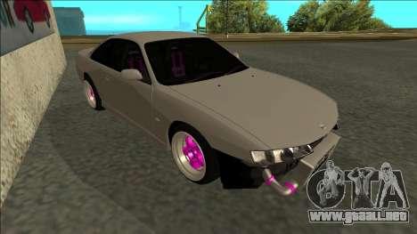 Nissan Silvia S14 Drift para GTA San Andreas left