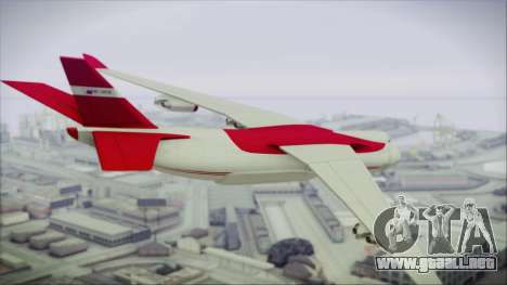 GTA 5 Cargo Plane para GTA San Andreas left