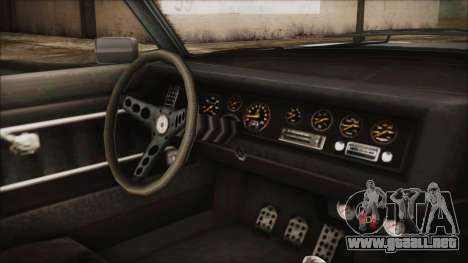 Imponte Nightshade para la visión correcta GTA San Andreas