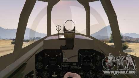 GTA 5 P-47D Thunderbolt cuarto captura de pantalla