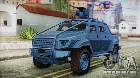 GTA 5 HVY Insurgent Pick-Up IVF para GTA San Andreas