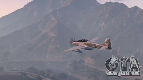 Embraer A-29B Super Tucano House para GTA 5