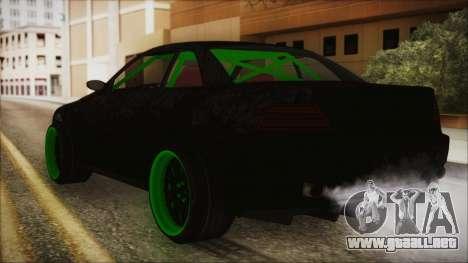 GTA 5 Sentinel RS para GTA San Andreas left