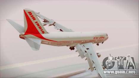 Boeing 747-237Bs Air India Chandragupta para GTA San Andreas left