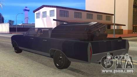GTA 5 Albany Lurcher Cabrio Style para GTA San Andreas left